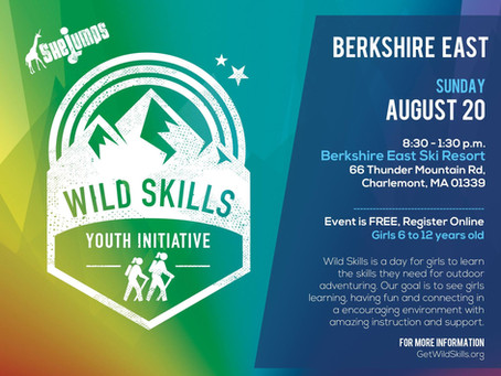 SheJumps Wild Skills at Berkshire East- August 20th