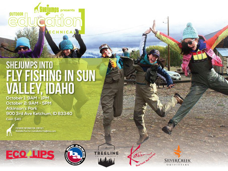 SheJumps Into Fly Fishing in Sun Valley, Idaho