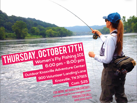Knoxville Women's Fly Fishing 101