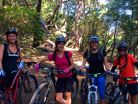 SheJumps Gets the Girls Out Biking in the Bay Area!