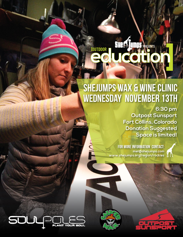 Jesse Ambrogi-Yason gets her wax on.  Jesse was just featured in 5280 and The Ultimate Guide to the Modern-Day Ski Bum.