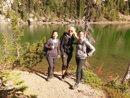 SheJumps Day Hiking Mount Rainier Hike with Author Tami Asars – Recap