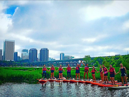 Recap: Sunrise SUP Yoga on the James