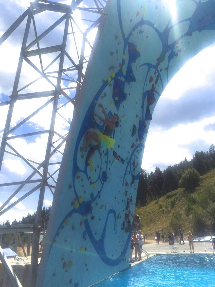 UOP Girl Climbing