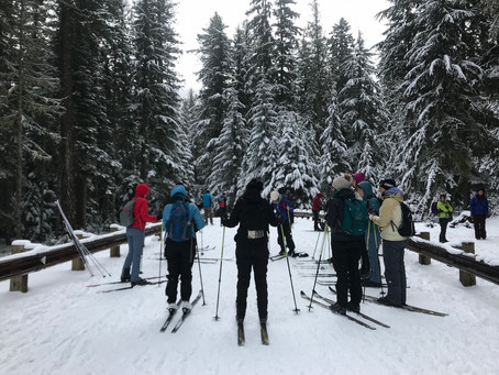 SheJumps Nordic Ski Clinic on Mt. Hood – Recap