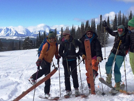 Teton SheJumpers Wrap Up 2015/2016 Avalanche One Courses