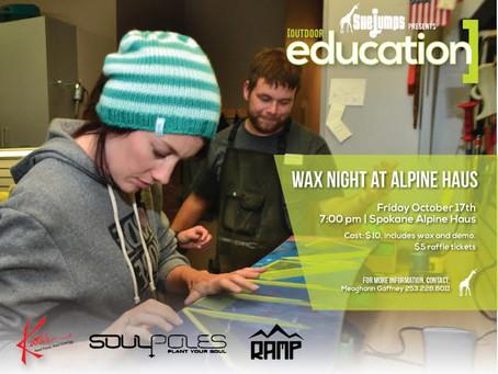 Wax Night at Alpine Haus in Spokane