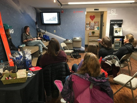 SheJumps & NWAC Avy Awareness at Sturtevant's Bellevue – Recap