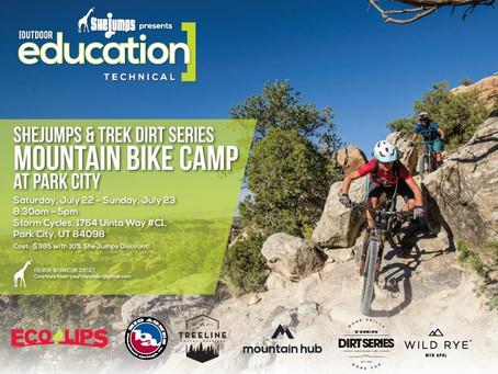 SheJumps & Trek Dirt Series Mountain Bike Camp in Park City