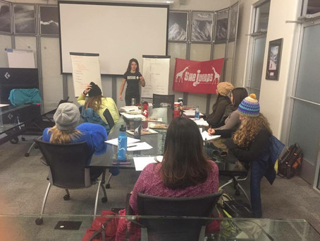 Recap- SheJumps Wilderness First Aid Certification Class at Black Diamond