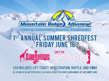 Get the Girls Out at Beartooth Basin Summer Shredfest