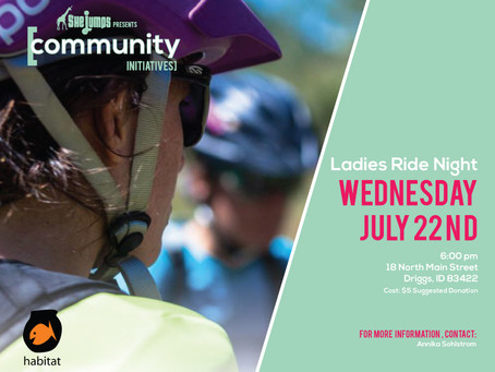 SheJumps Brings Ladies Bike Night to Teton Valley!