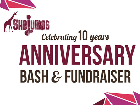 Celebrate 10 Years of SheJumps in Seattle on Nov. 3