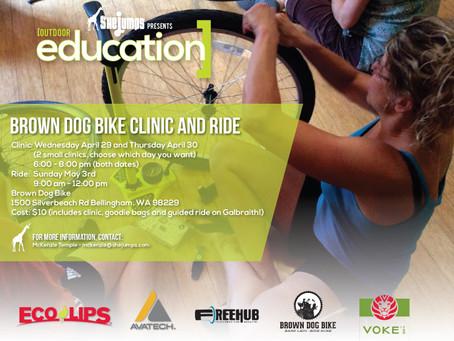 Brown Dog Bike Clinic and Ride – Bellingham, WA