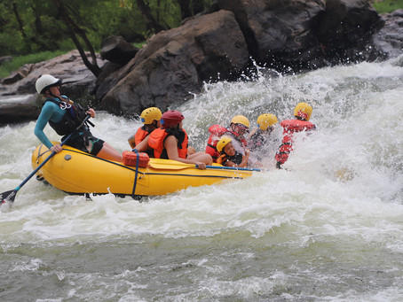 RECAP: SheJumps Whitewater Rafting in Richmond, VA