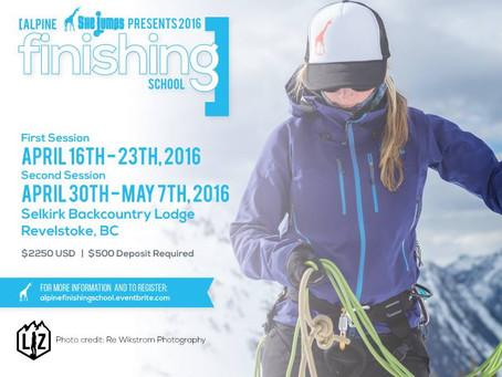 2016 SheJumps Alpine Finishing School
