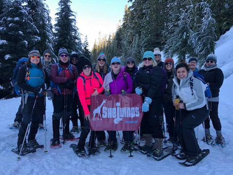 SheJumps Snowshoe Adventure to Mt. Baker – Recap