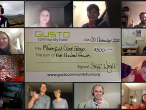 Gusto helps Scouts Race Round the World