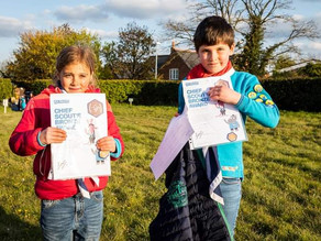 Scouts Reach High for Awards