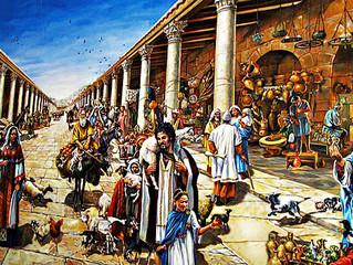 Mercati nell'antica Roma: Il Foro Holitorio e le erbe.