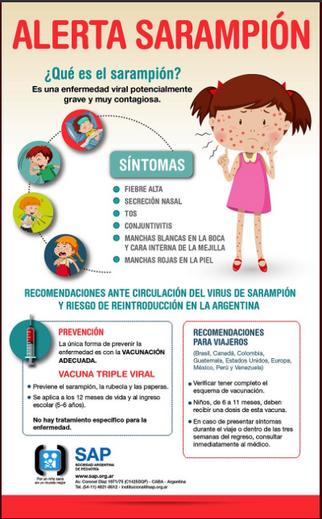 Campaña de Vacunación Antisarampionosa