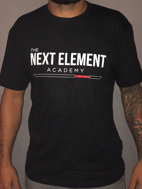 The Next Element Basic Tee - Black