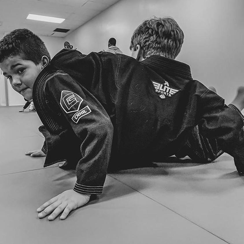 Kids Jiu Jitsu Fundamentals Camp