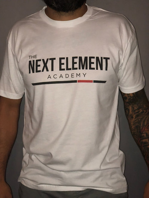 The Next Element Basic Tee - White