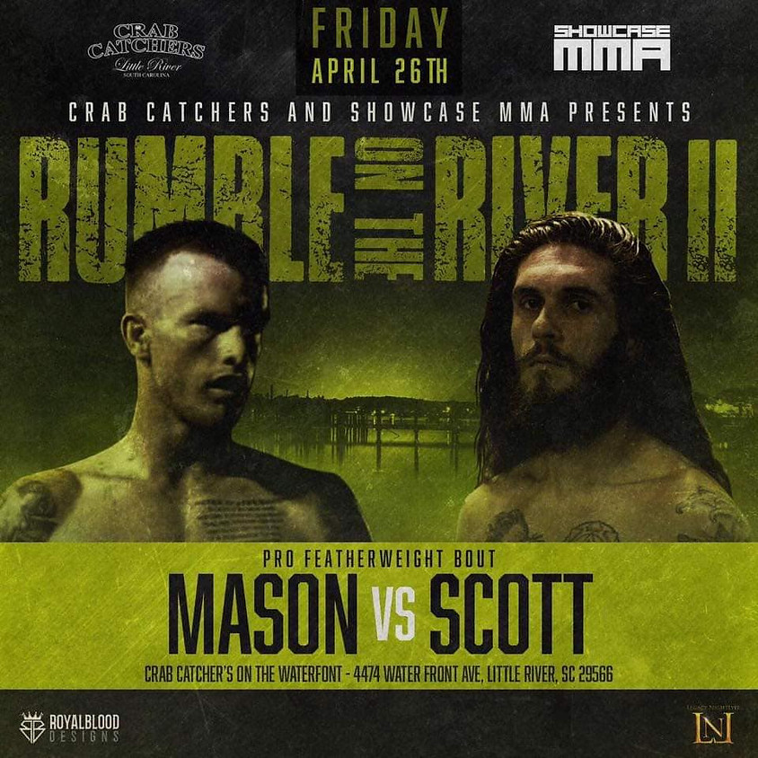 """Jeremiah """"The Prophet"""" Scott fighting at Rumble on The River"""