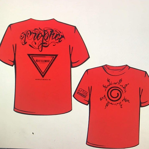 "Jeremiah ""The Prophet"" Scott Fight Shirt"