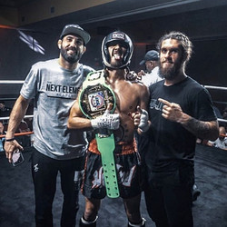 _claymcfly moves to 2-0 kickboxing in ju