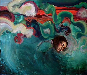 Arrullo de mar y aire, 65 x 81 cm, Mixta