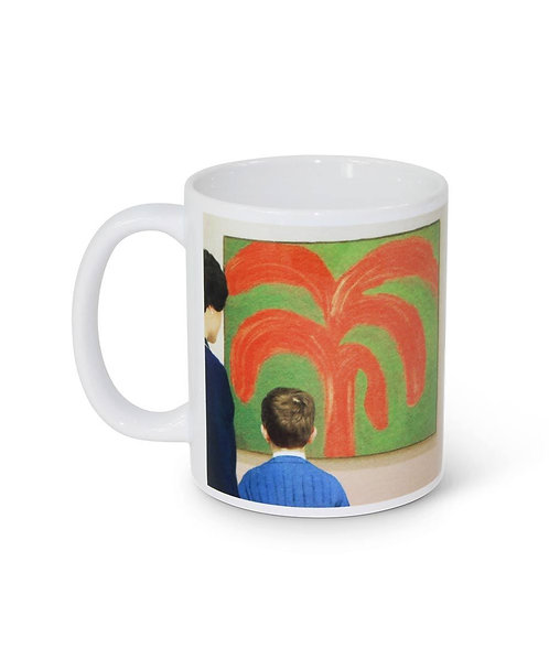 JOHN SEES THE PAINTING MUG