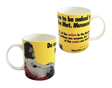 GUERRILLA GIRLS - DO WOMEN HAVE TO BE NAKED MUG