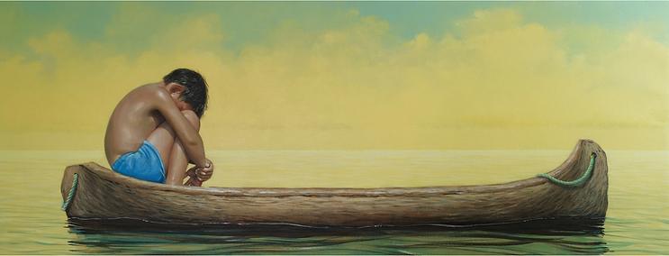 KANSUET, (Panamá Océano, 50 x 130 cm,