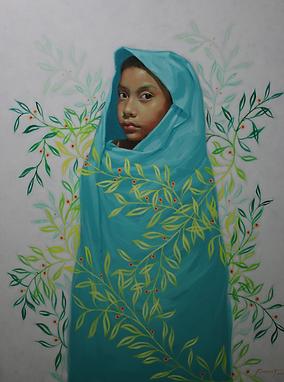 KANSUET, (Panamá), Esencia, 102.5 x 78.