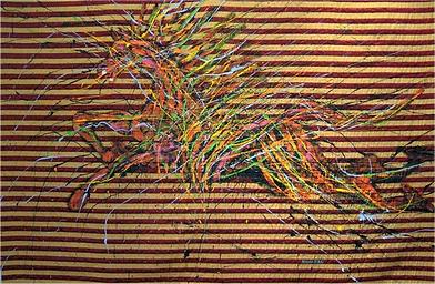 ST, 127 x 177 cm, Acrílico  Tapiz, 2013