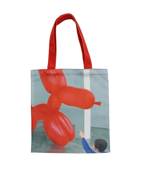 PLAY WITH THE BALLOON TOTE X WE GO TO THE GALLERY
