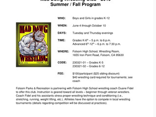 Mad Dawg Summer Session Starts Soon!