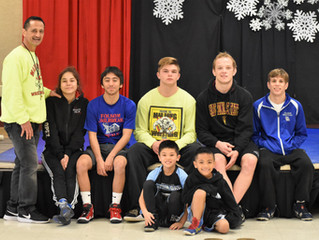 Mad Dawg Introduces the Sport of Wrestling to Local Elementary Schools