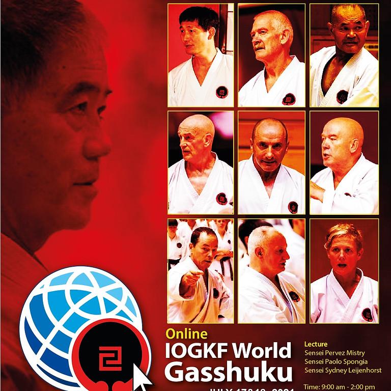 Online IOGKF World Gasshuku