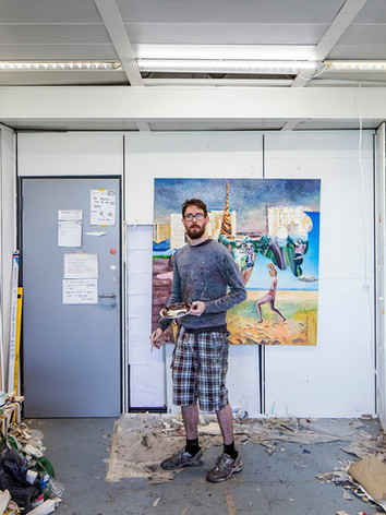 Patrick Simkins, Artiste Peintre