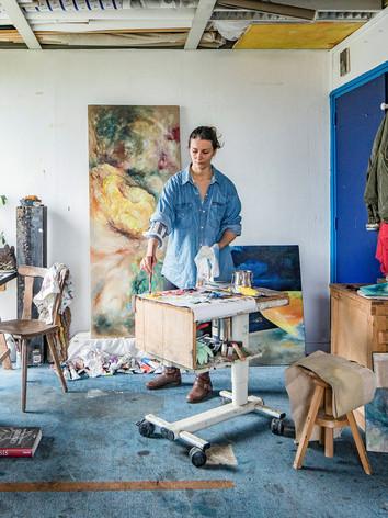 Emilie Sévère, Artiste Peintre
