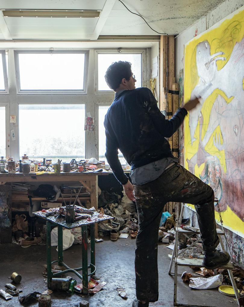 Julien Wolf, Artiste Plasticien