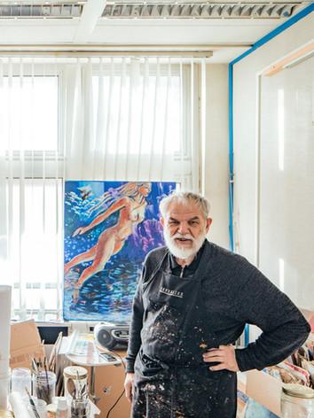 Michel Gaillard (Aquar'Île), Artiste Peintre