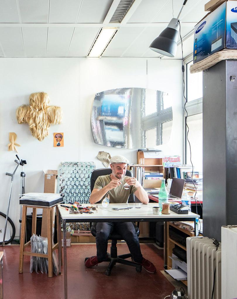 Laurent Gongora, Artiste Plasticien