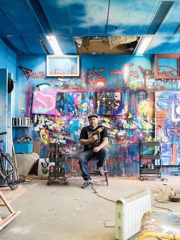 Marko 93, Street Artiste