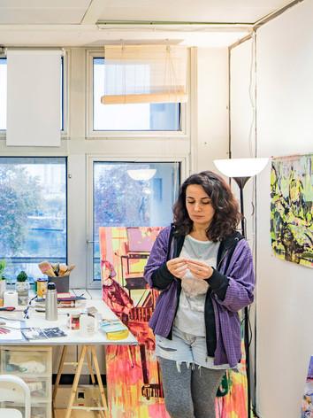Asli Torçu, Artiste Peintre