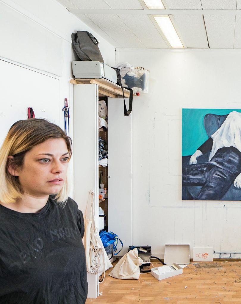 Marie-Pierre Brunel, Artiste Plasticienne