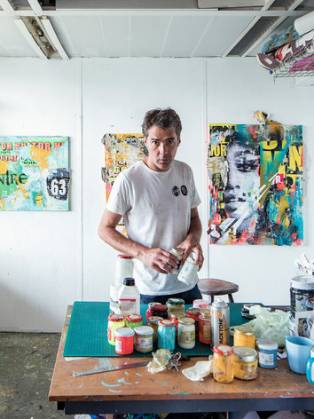 Joachim Romain, Street Artiste